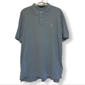 Men's Polo by Ralph blue polo shirt Sz XL